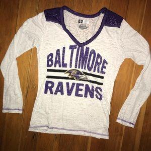 Baltimore Ravens LS lightweight shirt NFL apparel